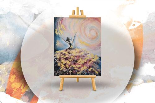 Tündértánc - Ismeretlen festő festőest élményfestés szolnok